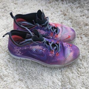 Nike Free TR Fit 4 Galaxy Purple Pink